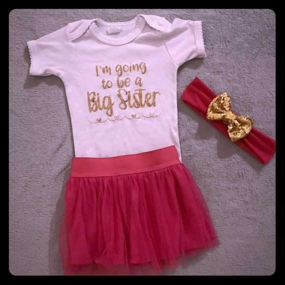 66a201847 Disney Matching Sets | Big Sister Outfit | Poshmark
